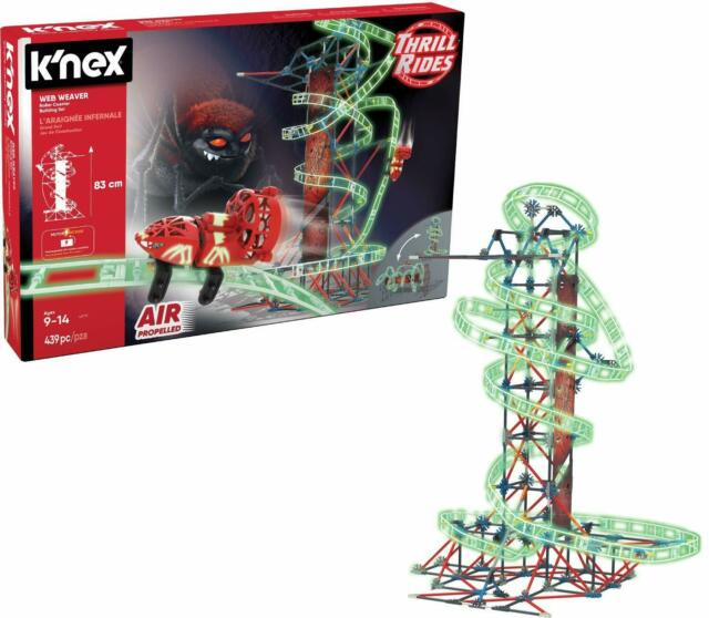 New Toy Gift KNEX Thrill Rides Infinite Journey Roller Coaster Building Ages 7