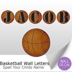 Letters wall decor uk basketball
