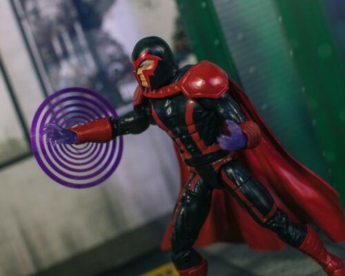 Marvel Legends 1//12 Translucent Purple Magneto Powers EFFECT ONLY Mezco