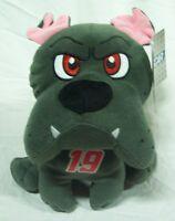 Nascar Carl Edwards 19 Gray Bulldog 10 Plush Stuffed Animal