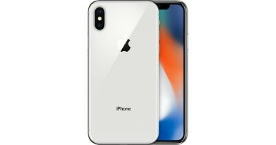 Apple iPhone X 256GB Silver LTE Cellular AT&T MQAN2LL/A