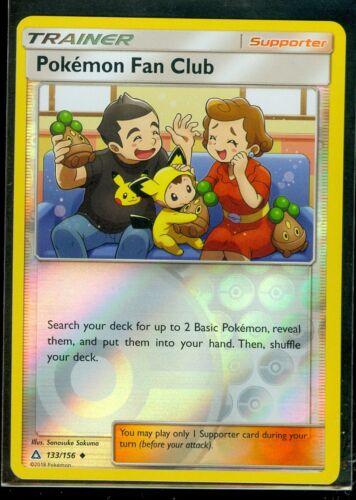 Pokemon POKEMON FAN CLUB 133/156 - Ultra Prism - Rev Holo - MINT
