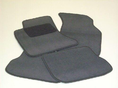 Passform-Velours-Fußmatten für Mercedes S-Klasse  W126 Autoteppiche in grau