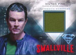SMALLVILLE M-29 JAMES MARSTERS AS MILTON FINE WARDROBE CARD SEASON 7-10