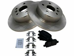 Rear Brake Rotors And Ceramic Pads For 2000 2001 2002 2003 2004 Toyota Avalon