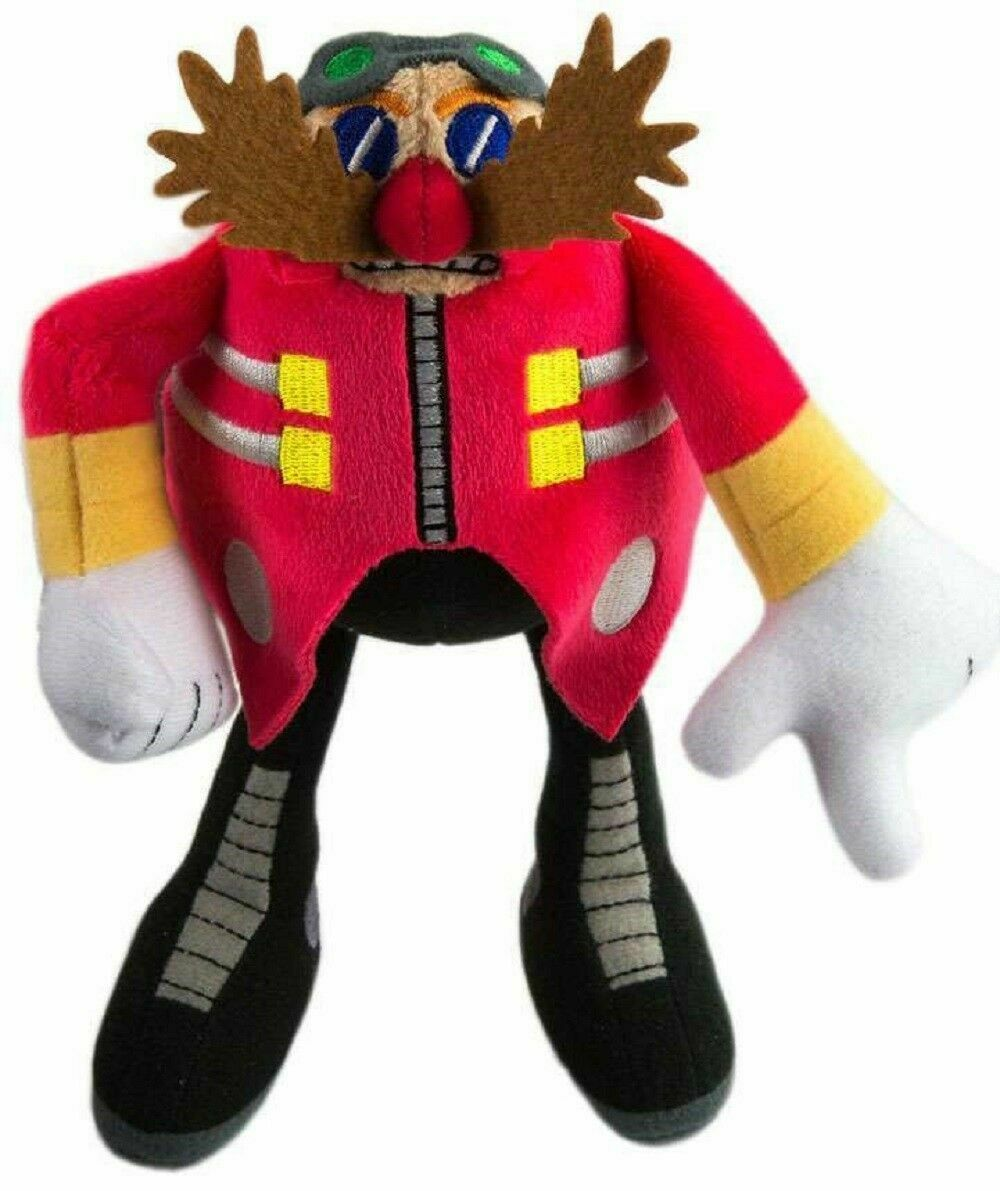 Plush Toy Sonic The Hedgehog Modern Dr Eggman 8 Inch For Sale Online