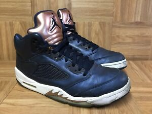 best website 19292 20894 Details about RARE🔥 Nike Air Jordan 5 V Retro Bronze Obsidian Blue  Metallic Sz 11 136027-416