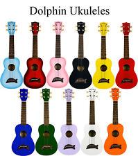 Kala Makala Purple MK-SPL/Burst Soprano Ukulele Fitted Aquila Strings & Case