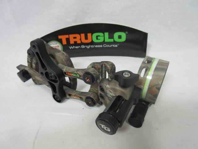 TruGlo TG6401GB Archer/'s Choice Range Rover Pro Green Dot Bow Sight