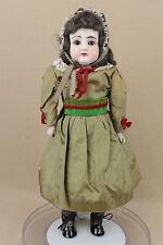"""19"""" old antique bisque shoulder head leather Dep German Kestner Doll Mold 154"""