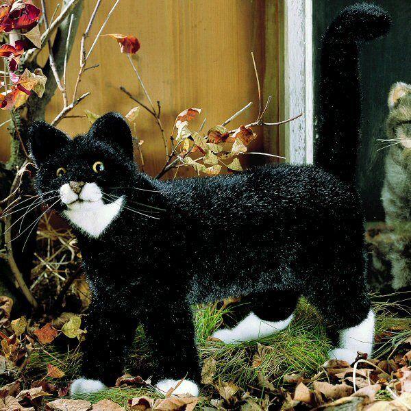 schwarz schwarz schwarz Cat - Plüsch Sammler Weich von Deutschland - Kosen   Kösen - 3960 ecf503