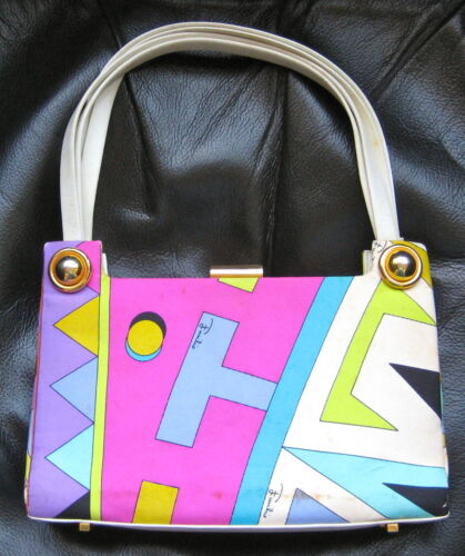 VINTAGE 1960s EMILIO PUCCI PURSE HANDBAG POCKETBOO