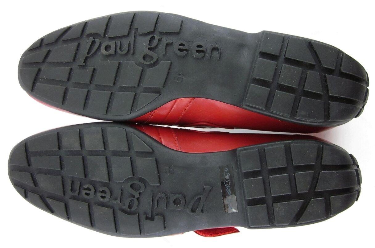 Paul Green Munchen Loafers Ferrari / ROT Sz 6.5 UK / Ferrari 9 US Mint Condition 3b87f2