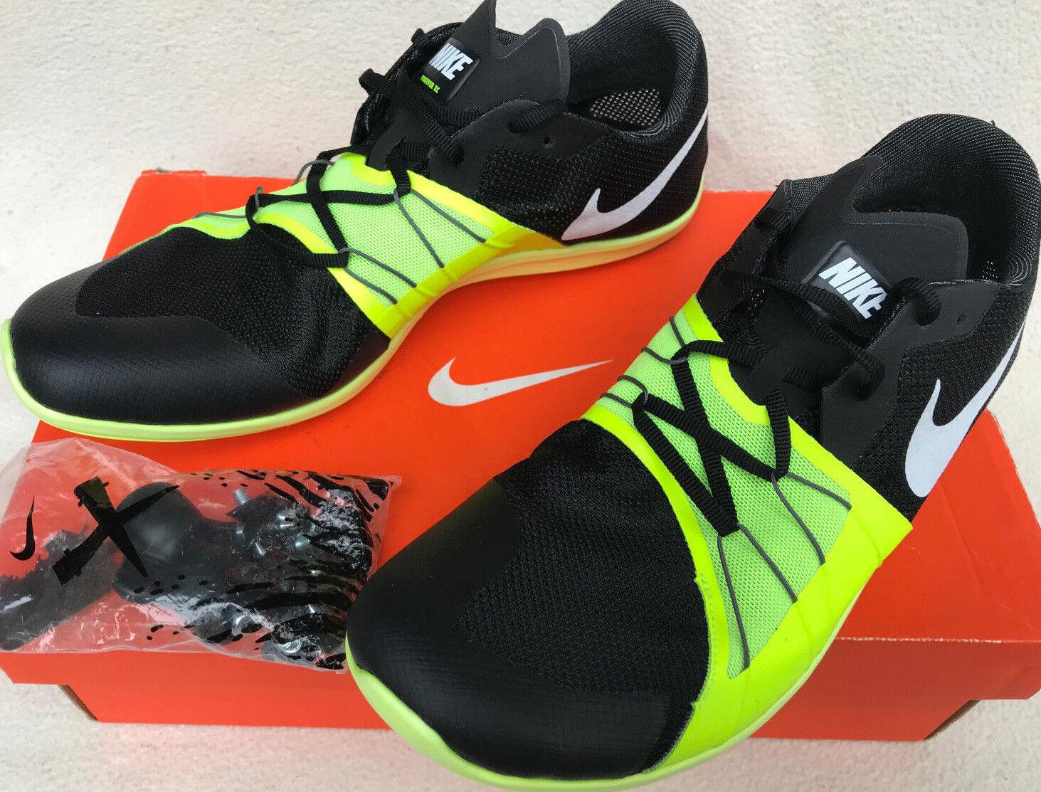 Nike zoom ewig xc 5 volt 904723-017 cc track spike - schuhe für männer 9,5 neue