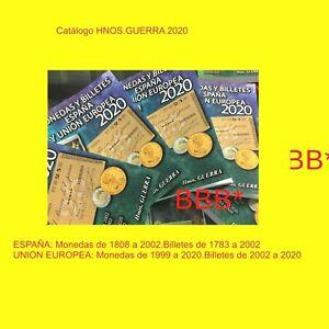 Catalogo-Hnos-Guerra-de-MONEDAS-Y-BILLETES-DE-ESPANA-Y-UNIoN-EUROPEA-A-color