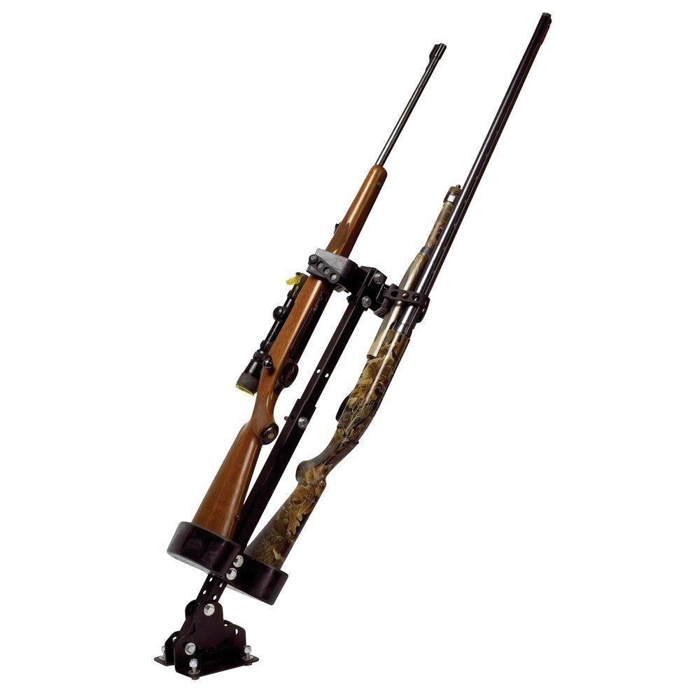 Soporte de montaje en rack de pistola de cabina CAMIÓN UTV Altura Ajustable Correa de caucho Polaris Ranger