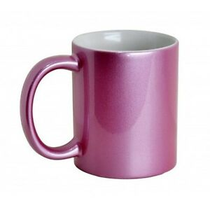 Details about SUBLIMATION MUGS SPARKLE PINK MUGS 11oz CERAMIC SUBLIMATION  HEAT PRESS PRINTING