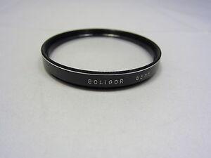 Used SOLIGOR 55mm +3 N0.3 Close-Up Macro Lens Filter Made in Japan N103060