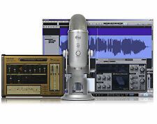 BLUE YETI STUDIO PACK with Multi-Pattern USB Mic & Software Recording System