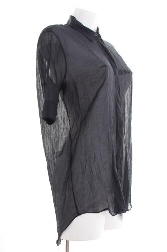 36 Bluse Acne Blau Blouse Baumwolle De Gr Damen Pt4wTBq