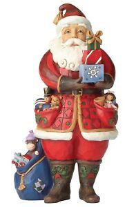 Cadeaux de locataire Santa Heartwood Creek comme vous le souhaitez figurine 4058787