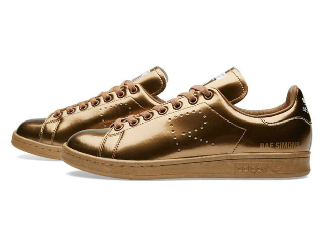 df074daf7ba3 adidas X RAF Simons Stan Smith S75937 Copper Sz 10 for sale online ...