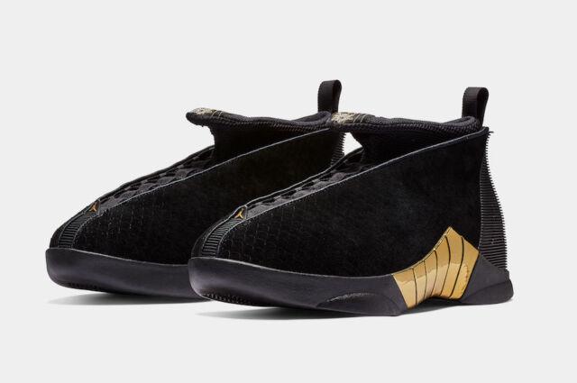separation shoes 37e64 097bc Air Jordan Retro 15 XV DB Doernbecher Black Gold 10-11 BV7107-017 100%  Authentic