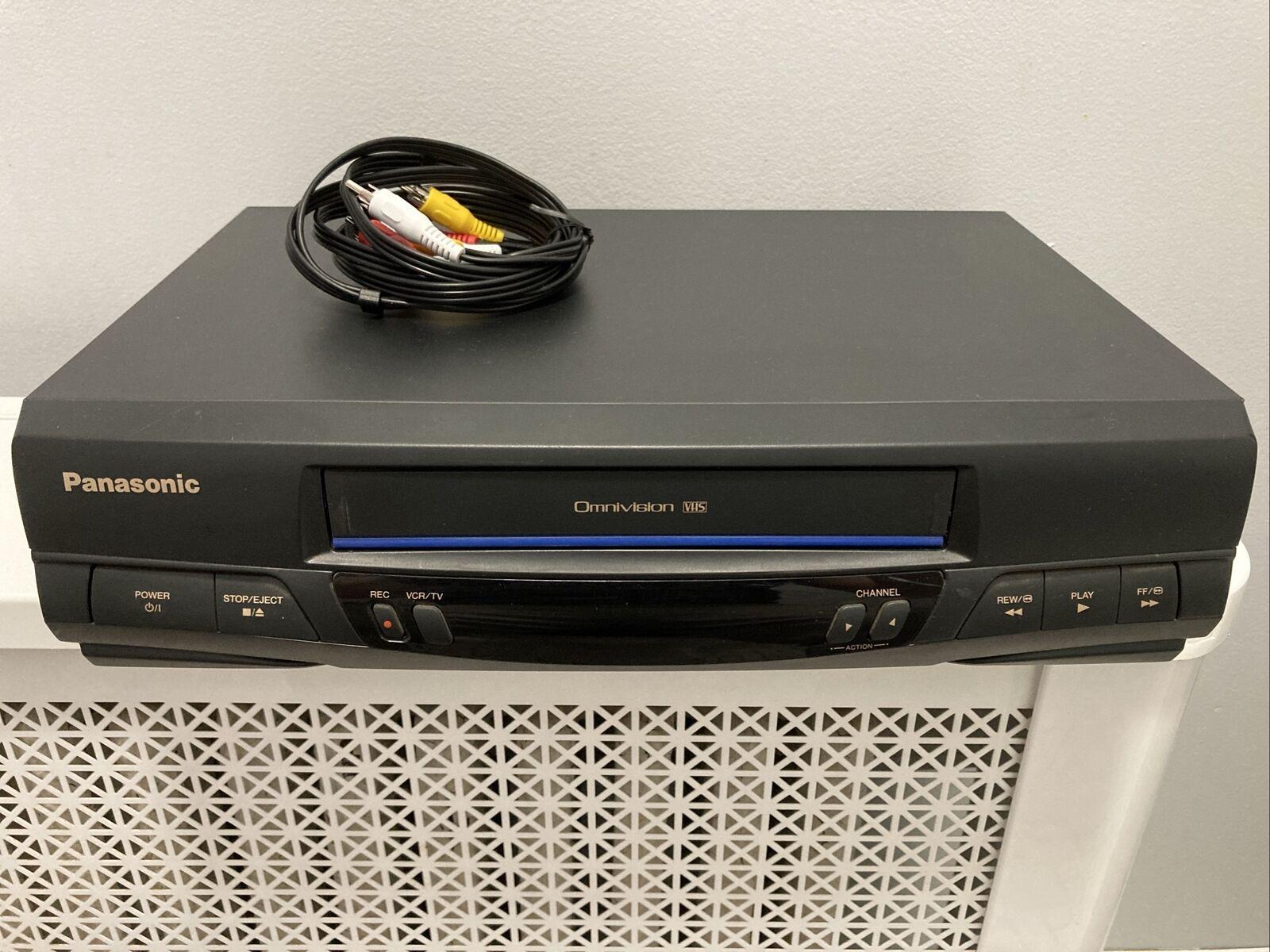 ghdonat.com Panasonic PVQV200 2 Head VCR Electronics Televisions ...