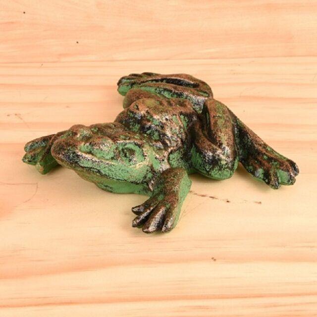 Cast-Iron Large Frog Statue Garden Decor or Indoor Door ...