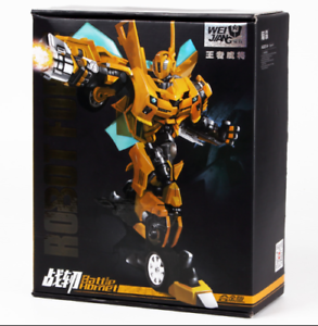 Deformation toys the warblade hornet alloy version of movie 5 toys