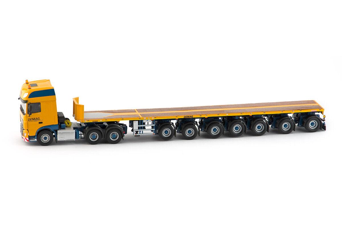 IMC Models 33-0055 DEMAG daf SSC Euro 6 6x4 with 7 Axle NOOTEBOOM Balla Nouveau Neuf dans sa boîte