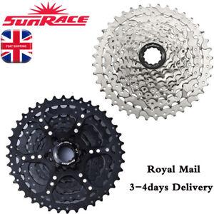 SUNRACE-9-velocidad-11-40T-Casete-Aleacion-Bicicleta-de-Montana-Bici-amplia-relacion-ajuste-COGS