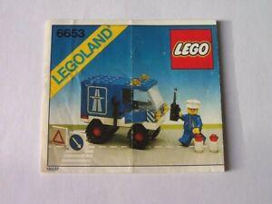 Instruction Nr LEGO® Bauanleitung 6653