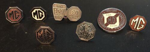 Mg Pin Badge Set Of 8 Badges New