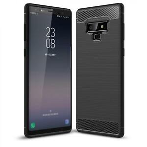 SAMSUNG-GALAXY-Note-9-ULTRA-SLIM-FIT-CARBON-FIBER-CASE-REINFORCED-BUMPER-COVER