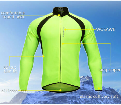 Men/'s Cycling Long Sleeves Jersey Pants Set Bike Bicycle Tops 3D Padded Trousers