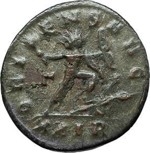 AURELIAN-274AD-Rome-Authentic-Ancient-Original-Roman-Coin-w-SOL-SUN-GOD-i66342