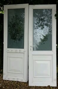 Exterior external upvc fully double glazed french doors for External french doors and frame
