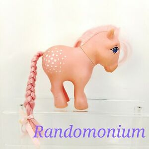 Vintage-My-Little-Pony-Cotton-Candy-1983-G1-Hasbro-MLP-Pink-Horse