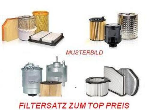 FILTRO OLIO FILTRO ARIA dell/'abitacolo filtro carbone attivo-FIAT MULTIPLA 1.9 JTD 85//88kw