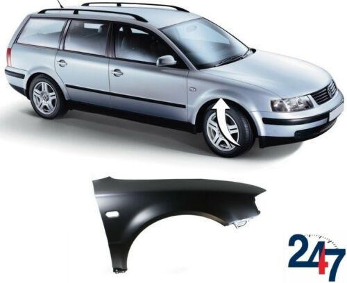 NEW VW PASSAT B5 1997-2000 FRONT WING FENDER WITH FLASHER HOLE RIGHT O//S