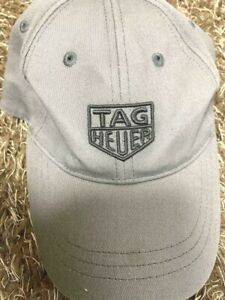 TAG-Heuer-Genuine-Novelty-Logo-embroidery-Cap-Hat-Light-Gray-Free-size-No-box