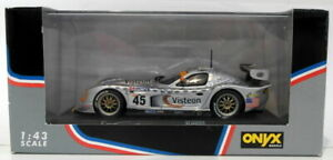 Onyx-Diecast-Escala-1-43-XLM035-Panoz-Ligas-GTR-1-45-du-Mans-1998