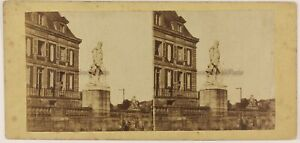 Versailles Soprammobile Francia Foto Stereo Th1L6n46 Vintage Albumina c1865