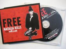 "NATALIA KILLS FEAT. WILL.I.AM ""FREE"" - MAXI CD"