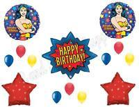 Wonder Woman Birthday Party Balloons Decoration Supplies Super Hero Movie