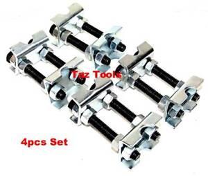 4 Pcs Mini Coil Spring Compressor Adjustable Spring Struts Shocks Adjuster Tool Une Grande VariéTé De Marchandises