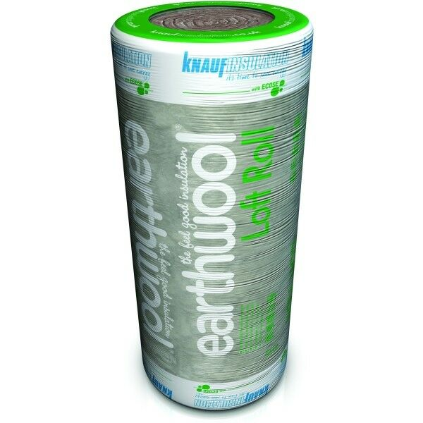 100mm Knauf Earthwool Loft Insulation Roll 16m Squared. | eBay