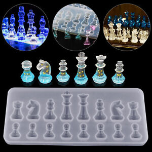 DIY-Silicone-Resin-Chess-Mold-Jewelry-Pendant-Making-Tool-Mould-Craft-Handmade