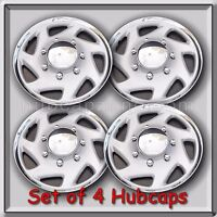 Set 4 15 1999-2000 Ford Econoline Van E-150 Hubcaps, Wheel Covers Free Shipping